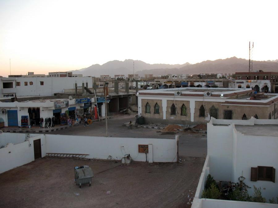Дахаб. Вид с крыши дома
