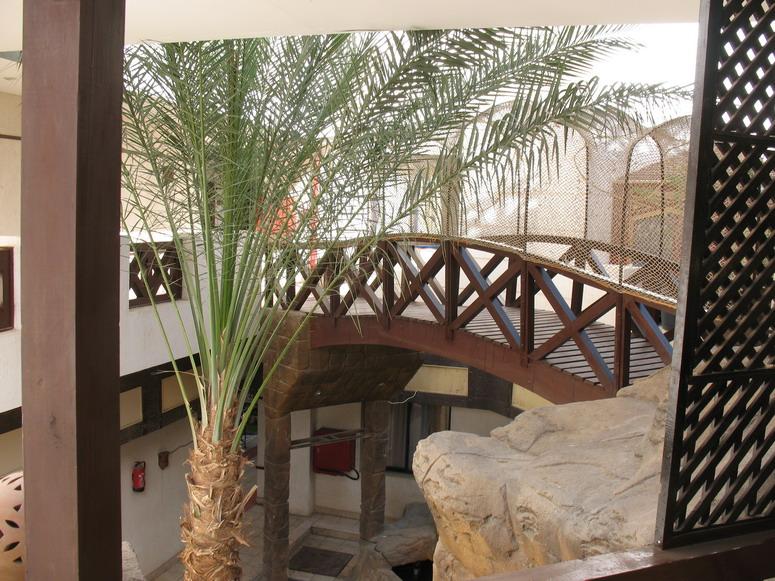 Вид с балкона во внутренний двор